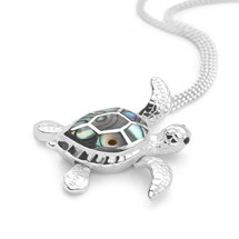 Moving Turtle Pendant