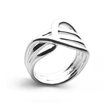 Silver Waltz Ring
