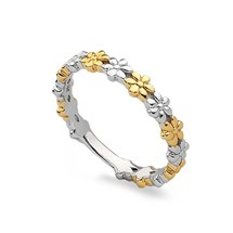 Daisy Chain Stack Ring