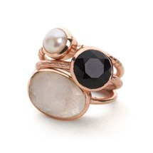 Primrose Stack Rings (Set of 3)