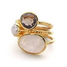 Opera Stack Rings (Set of 3)