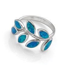 Trailing Vine Ring (Blue)