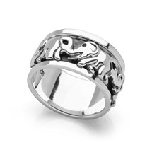 Elephant Spin Ring