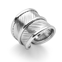 Feather Embrace Ring