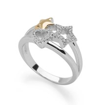 Wish Upon a Star Ring (Gold)