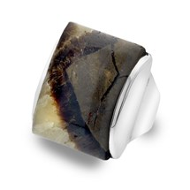One of a Kind Septarian Ring
