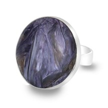One of a Kind Charoite Ring